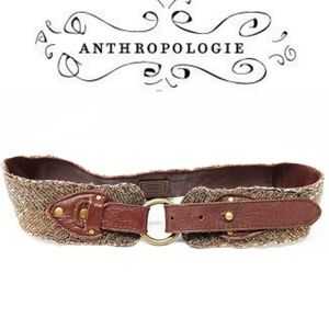 Anthropologie Jasper & Jeera Beaded Belt size S